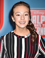 HOLLYWOOD, CA - NOVEMBER 05: Aubrey Anderson attends the Premiere Of Disney's 'Ralph Breaks The Internet' at the El Capitan Theatre on November 5, 2018 in Los Angeles, California.<br /> CAP/ROT/TM<br /> &copy;TM/ROT/Capital Pictures