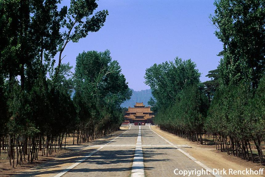 Grab Tailing, westliche Qinggräber (qing xi  ling) bei Peking (Beijing), China, Unesco-Weltkulturerbe