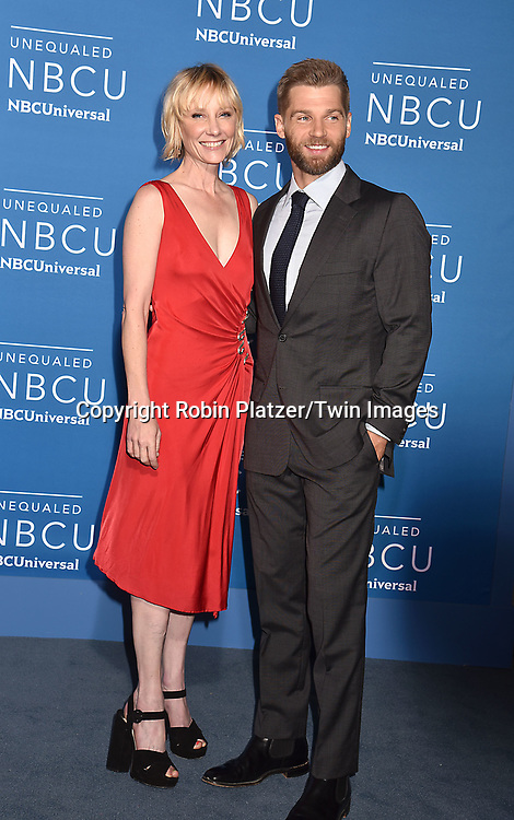 Anne Heche and Mike Vogel of The Brave attends the NBCUNIVERSAL 2017 UPFRONT on May 15, 2017 at Radio City Music Hall in New York, New York, USA.<br /> <br /> photo by Robin Platzer/Twin Images<br />  <br /> phone number 212-935-0770