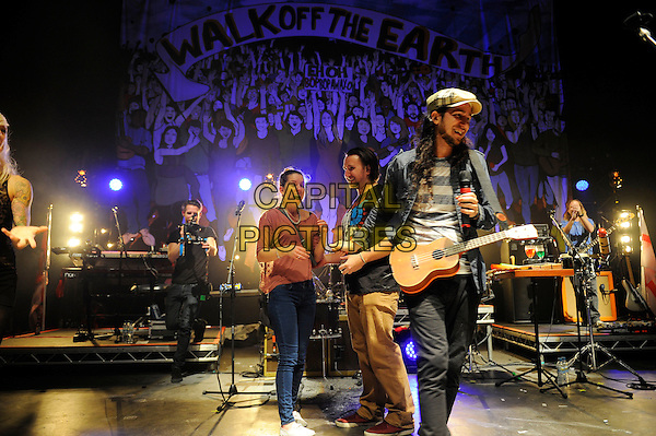 LONDON, ENGLAND - April 3: Gianni Luminati of Walk Off The Earth performs in concert at the o2 Shepherd's Bush Empire on April 3, 2014 in London, England<br /> CAP/MAR<br /> &copy; Martin Harris/Capital Pictures