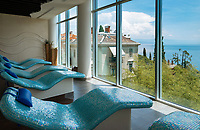 Croatia, Kvarner Gulf, Opatija: at Thalasso Wellness Centar Opatija, resting room | Kroatien, Kvarner Bucht, Opatija: im Thalasso Wellness Centar Opatija, der Ruheraum