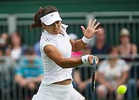 25-06-13, England, London,  AELTC, Wimbledon, Tennis, Wimbledon 2013, Day two, Li Na (CHN)<br /> <br /> <br /> <br /> Photo: Henk Koster