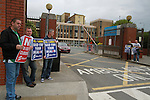 Protest against Hospital Cuts at the Lourdes Hospital , Drogheda, Co.Louth...(Photo credit should read Jenny Matthews www.newsfile.ie)....This Picture has been sent you under the conditions enclosed by:.Newsfile Ltd..The Studio,.Millmount Abbey,.Drogheda,.Co Meath..Ireland..Tel: +353(0)41-9871240.Fax: +353(0)41-9871260.GSM: +353(0)86-2500958.email: pictures@newsfile.ie.www.newsfile.ie.