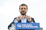 Pablo Casado in the presentation of the Partido Popular program<br />  October 13, 2019. <br /> (ALTERPHOTOS/David Jar)