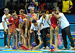 Olympic Games 2012; Waterpolo - Women semifinal; Spain - Hungary.