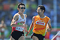Shinya Wada &amp; Takashi Nakata (JPN), <br /> SEPTEMBER 11, 2016 - Athletics : <br /> Men's 1500m T11 Heat <br /> at Olympic Stadium<br /> during the Rio 2016 Paralympic Games in Rio de Janeiro, Brazil.<br /> (Photo by AFLO SPORT)