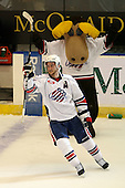 January 9th, 2009:  Tanner Glass (15) of the Rochester Amerks is named the games third star after defeating the Syracuse Crunch at Blue Cross Arena in Rochester, NY.  Rochester defeated Syracuse 3-1 for their third straight win.  Photo Copyright Mike Janes Photography 2009