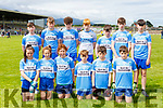 The Scoil An Chuileannaigh NS team that played in the Killarney Garda NS football blitz in Fitzgerald Stadium on Wednesday