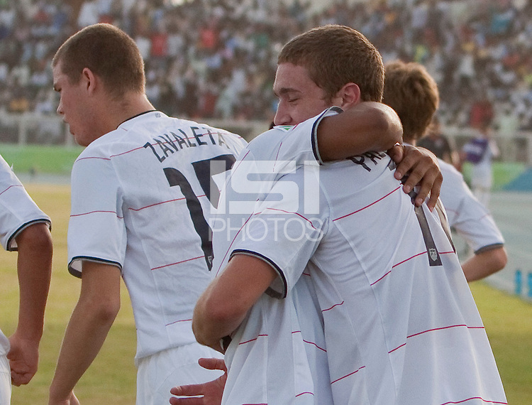 US Under-17 Men's National Team. Italy defeated the US Under-17 Men's National Team 2-1 in Kaduna, Nigera on November 4th, 2009.