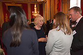 London, Uk. 15/10/2015. HRH The Duchess of Cornwall meets members of the Royal Commonwealth Society. The Duchess of Cornwall on behalf of Her Majesty The Queen, Patron of The Royal Commonwealth Society, holds a reception for winners of The Queen's Commonwealth Essay Competition at Buckingham Palace. The Queen's Commonwealth Essay Competition was founded in 1883 and is the world's oldest international schools' writing contest. This year's competition, sponsored by Cambridge University Press, received more than 13,000 entries from over 600 schools in 49 Commonwealth countries and territories. The Duchess of Cornwall hands out awards to young writers who have travelled from across the Commonwealth to attend the reception. This year's winners have come from Cyprus, Botswana, The Cayman Islands and as far away as Tristan da Cunha - over 9000km away.