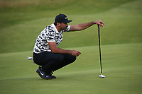 Jason Day (AUS) during Round One of the 148th Open Championship, Royal Portrush Golf Club, Portrush, Antrim, Northern Ireland. 18/07/2019. Picture David Lloyd / Golffile.ie<br /> <br /> All photo usage must carry mandatory copyright credit (© Golffile | David Lloyd)