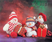 Interlitho, Alberto, CHRISTMAS ANIMALS, photos, 3 snowmen, figurines(KL2864,#XA#)