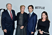 """LOS ANGELES, USA. November 06, 2019: Alan Alda, Julie Hagerty, Noah Baumbach & Martha Kelly at the premiere for """"Marriage Story"""" at the DGA Theatre.<br /> Picture: Paul Smith/Featureflash"""
