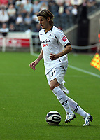 Pictured: Andrea Orlandi of Swansea City<br /> Coca Cola Championship, Swansea City FC v Burnley at the Liberty Stadium, Swansea. Saturday 20 September 2008.
