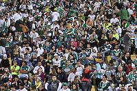 SÃO PAULO, SP, 19 DE MAIO DE 2012 - CAMPEONATO BRASILEIRO - PALMEIRAS x PORTUGUESA: Torcida do Palmeiras durante partida Palmeiras x Portuguesa válida pela primeira rodada do Campeonato Brasileiro no Estádio do Pacaembú. FOTO: LEVI BIANCO - BRAZIL PHOTO PRESS