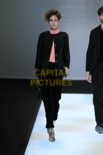 GIORGIO ARMANI<br /> Paris Fashion Week Fall Winter 2016<br /> Paris, France, February 29, 2016.<br /> CAP/GOL<br /> &copy;GOL/Capital Pictures