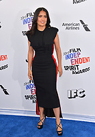 Salma Hayek at the 2018 Film Independent Spirit Awards on the beach in Santa Monica, USA 03 March 2018<br /> Picture: Paul Smith/Featureflash/SilverHub 0208 004 5359 sales@silverhubmedia.com