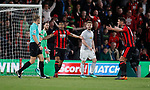 Bournemouth claim for a penalty during the premier league match at the Vitality Stadium, Bournemouth. Picture date 18th April 2018. Picture credit should read: David Klein/Sportimage