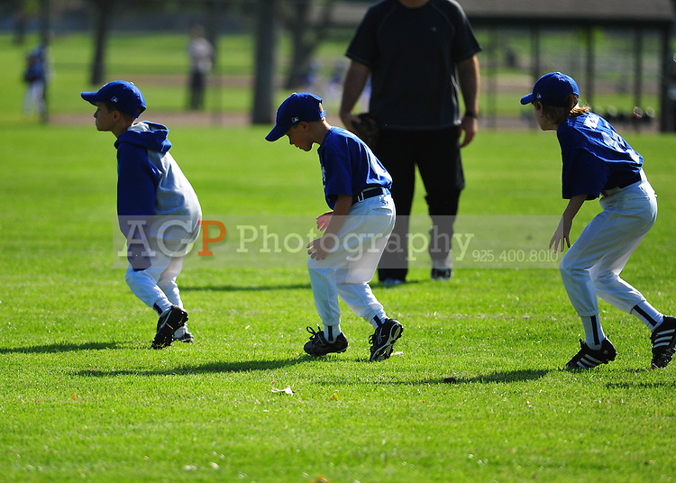 The A Dodgers at the Pleasanton Sports Park May 8, 2010. (Photo by Alan Greth)