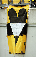 A Phoenix banner hangs from the stands during the A-League football match between Wellington Phoenix and Perth Glory at Westpac Stadium, Wellington, New Zealand on Sunday, 16 August 2009. Photo: Dave Lintott / lintottphoto.co.nz