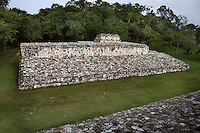 Ball Court, Ek Balam (?Black Jaguar? in Maya), flourished during the Late Classic period between 700 and 1200 AD, Yucatan, Mexico. Picture by Manuel Cohen