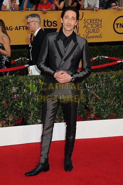 25 January 2015 - Los Angeles, California - Adrien Brody. 21st Annual Screen Actors Guild Awards - Arrivals held at The Shrine Auditorium. <br /> CAP/ADM/BP<br /> &copy;BP/ADM/Capital Pictures