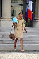 George Pau Langevin (Ministre chargee de la reussite educative) .Parigi 22/8/2012.Consiglio dei Ministri.Foto Insidefoto / Christian Liewig / FEP / Panoramic.ITALY ONLY