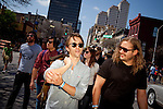 Sondre Lerche walks with Fredrik Vogsborg, during the 2011 SXSW Music Festival in Austin, Texas.