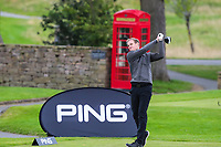 Dan Walker during the Graham Wylie Foundation- Have A Heart- golf day with Lee Westwood and Ronan Keating at Close House Golf Club, Heddon on the wall, England on 10 September 2018. Photo by Thomas Gadd.