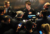Thomas Hickey speaks with the media after New York Islanders player exit interviews with management at Northwell Health Ice Center in East Meadow on Monday, April 9, 2018.
