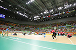 General View,<br /> SEPTEMBER ,8 2016 - Goalball : <br /> Preliminary Round<br /> match between Japan 1-1 Israel<br /> at Future Arena<br /> during the Rio 2016 Paralympic Games in Rio de Janeiro, Brazil.<br /> (Photo by Shingo Ito/AFLO)