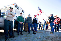 A salute to Veteran's at the onset of the Seaboard Auction.
