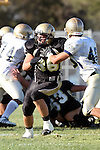 Palos Verdes, CA 10/02/09 - The Vista Murietta Broncos visited the Peninsula Panthers in a non-league contest, won 43-21 by Vista Murietta.  In action are Frederic Warner (#36)