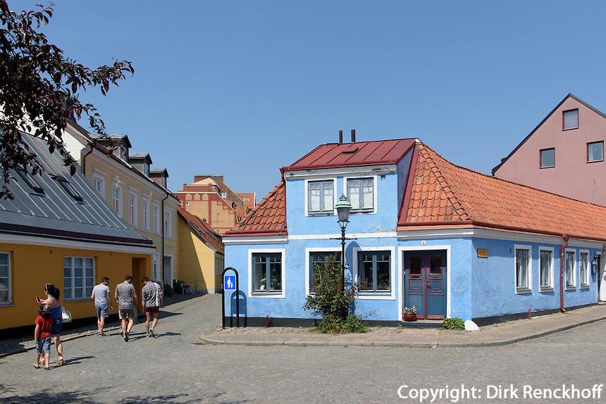 Altstadth&auml;user in Ystad, Provinz Sk&aring;ne (Schonen), Schweden, Europa<br /> Historic city  in Ystad, Sweden