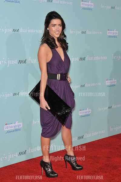 "Jacqueline MacInnes Wood at the world premiere of ""He's Just Not That Into You"" at the Grauman's Chinese Theatre, Hollywood..February 2, 2009  Los Angeles, CA.Picture: Paul Smith / Featureflash"