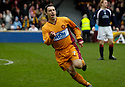11/03/2006         Copyright Pic: James Stewart.File Name : sct_jspa07_motherwell_v_falkirk.SCOTT MCDONALD CELEBRATES AFTER HE SCORES THE SECOND FOR MOTHERWELL....Payments to :.James Stewart Photo Agency 19 Carronlea Drive, Falkirk. FK2 8DN      Vat Reg No. 607 6932 25.Office     : +44 (0)1324 570906     .Mobile   : +44 (0)7721 416997.Fax         : +44 (0)1324 570906.E-mail  :  jim@jspa.co.uk.If you require further information then contact Jim Stewart on any of the numbers above.........