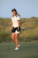 Carly Booth (SCO) during the first round of the Fatima Bint Mubarak Ladies Open played at Saadiyat Beach Golf Club, Abu Dhabi, UAE. 10/01/2019<br /> Picture: Golffile | Phil Inglis<br /> <br /> All photo usage must carry mandatory copyright credit (© Golffile | Phil Inglis)