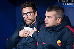 Roma coach Eusebio Di Francesco during UEFA Champions League match between Atletico de Madrid and Roma at Wanda Metropolitano in Madrid, Spain. November 22, 2017. (ALTERPHOTOS/Borja B.Hojas)