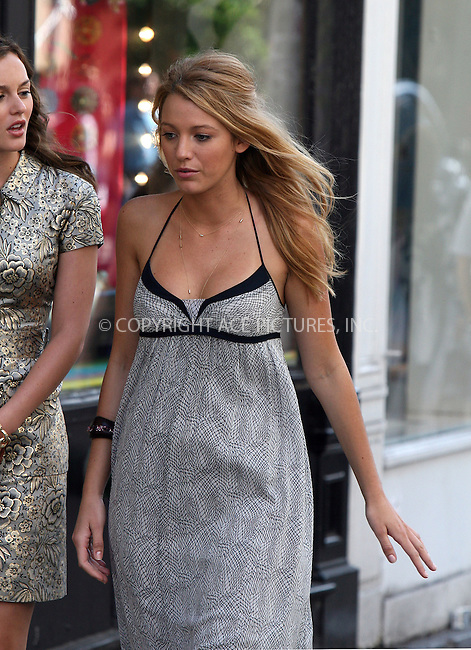 WWW.ACEPIXS.COM ************....July 9 2009, New York City....Actress Blake Lively on the set of the TV show 'Gossip Girl' in Soho on July 9 2009 in New York City......Please byline: PHILIP VAUGHAN - ACEPIXS.COM.. *** ***  ..Ace Pictures, Inc:  ..tel: (646) 769 0430..e-mail: info@acepixs.com..web: http://www.acepixs.com
