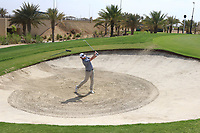 Cormac Sharvin (NIR) on the 17th during the Preview of the Saudi International at the Royal Greens Golf and Country Club, King Abdullah Economic City, Saudi Arabia. 28/01/2020<br /> Picture: Golffile | Thos Caffrey<br /> <br /> <br /> All photo usage must carry mandatory copyright credit (© Golffile | Thos Caffrey)