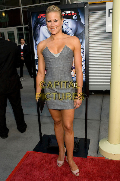 "BRITTANY DANIELS.The Los Angeles Premiere of ""Dance Flick"" held at the Arclight Theatre, Los Angeles, California, USA..May 20th, 2009.full length dress black clutch bag grey gray strapless.CAP/ADM/TC.©T. Conrad/AdMedia/Capital Pictures."