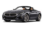 Stock pictures of low aggressive front three quarter view of 2019 BMW Z4 M-Performance 2 Door Convertible Low Aggressive