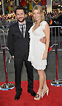 Charlie Day and wife at the premiere of Horrible Bosses, held at Grauman's Chinese Theater in Los Angeles, Ca. June 30, 2011. @Fitzroy Barrett Barrett