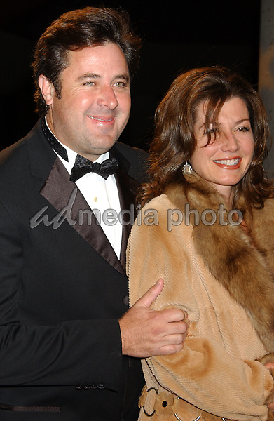 06 November 2007 - Nashville, Tennessee - Vince Gill and wife Amy Grant. BMI Country Awards 2007 held at BMI Headquarters. Photo Credit: Laura Farr/AdMedia