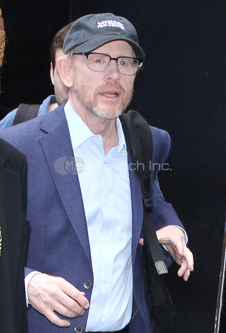 NEW YORK, NY - MAY 4 : Ron Howard seen at Good Morning America promoting Solo: A Star Wars Story in New York City on May 04, 2018. Credit: RW/MediaPunch