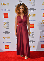 LOS ANGELES, CA. March 30, 2019: Skye Townsend at the 50th NAACP Image Awards.<br /> Picture: Paul Smith/Featureflash