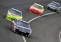 Feb 22, 2009; Fontana, CA, USA; NASCAR Sprint Cup Series driver A.J. Allmendinger during the Auto Club 500 at Auto Club Speedway. Mandatory Credit: Mark J. Rebilas-