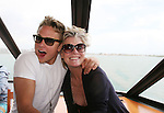 As The World Turns - Billy Magnussen and Ellen Dolan on the 12th Annual SoapFest - Cruisin' & Schmoozin' on the Marco Island Princess to raise dollars to benefit Marco Island YMCA, theatre program & Art League of Marco Island on May 16, 2010 on Marco Island, FLA. (Photo by Sue Coflin/Max Photos)