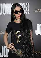 www.acepixs.com<br /> <br /> January 30 2017, LA<br /> <br /> Nostalghia arriving at the premiere of 'John Wick: Chapter Two' on January 30, 2017 in Hollywood, California.<br /> <br /> By Line: Peter West/ACE Pictures<br /> <br /> <br /> ACE Pictures Inc<br /> Tel: 6467670430<br /> Email: info@acepixs.com<br /> www.acepixs.com