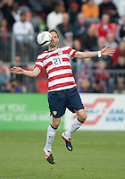 03 June 2012: US Men's National Soccer Team defender Clarence Goodson #21in action during an international friendly  match between the United States Men's National Soccer Team and the Canadian Men's National Soccer Team at BMO Field in Toronto..The game ended in 0-0 draw...